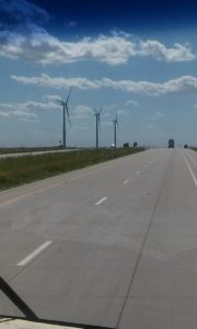Windmills... As far as the eye can see